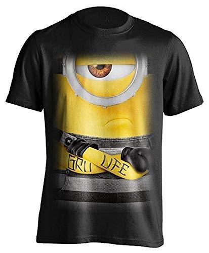 Ich - Einfach unverbesserlich (Minions) - Gru Leben - Offizielles Herren T-Shirt - Schwarz, XX-Large