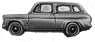 Spilla a forma di auto classica britannica Angia 105E Estate ref70 effetto peltro