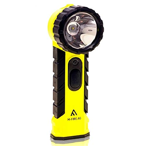 LED-MARTIN® M-Fire ATEX - Linterna de mano para bomberos (cabezal en ángulo) ✅