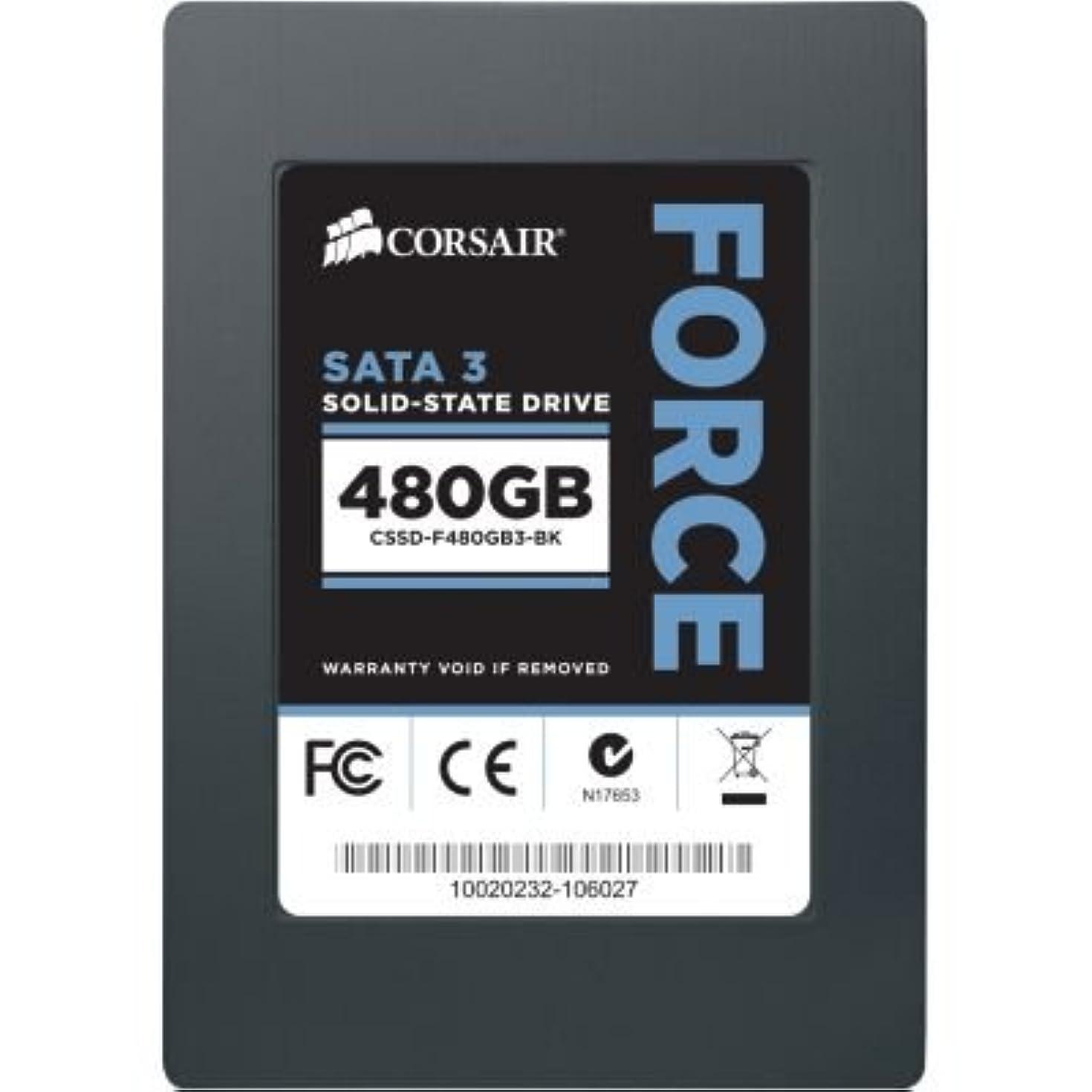 Corsair Force 3 CSSD-F480GB3-BK 480 GB Internal Solid State Drive
