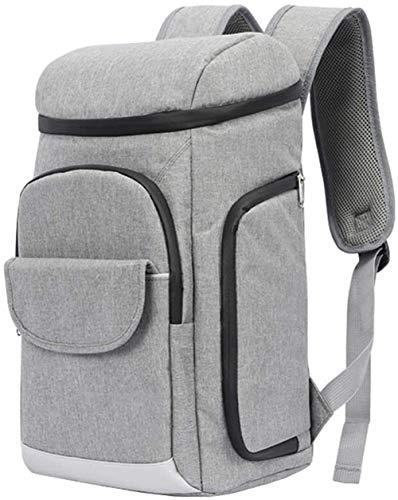 JNWEIYU Insulated Bag, 3-Schicht-Lock-Temperatur, kühle weiche Kühltasche Built-In-Kopf-Abdeckung Netztasche Kühltasche for Mittagessen Voll wasserdichte Innen