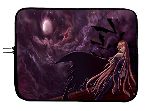 Negima! Anime Laptop Sleeve Bag 13 Inch Laptop & Tablet Sleeve Bag Case - Protects Your Notebook Mac Book Pro MacBook Air iPad or Windows Devices in Style