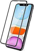 Kaemoon iPhone 11 / XR için Tasarlanmış Temperli 6D Tam Cam Ekran Koruyucu