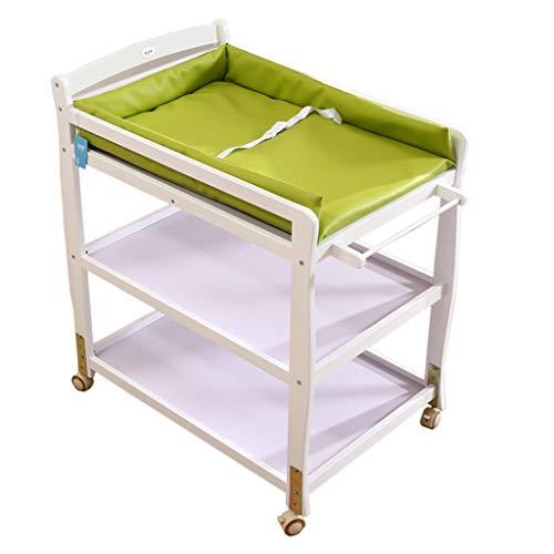 Table à langer bébé Commode infantile portative de station de massage de couche-culotte de pépinière pour le voyage de ménage Nouveau-né 0-2.5 ans Multi-fonction