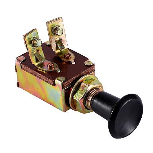 Tire de los faros interruptor de tirón 1Pcs-JK106 de coches Push Button Switch Tipo de faros, Auto partes interiores de coche, barco, tractor DC 12V 5A