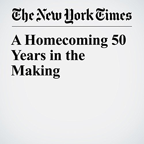A Homecoming 50 Years in the Making copertina