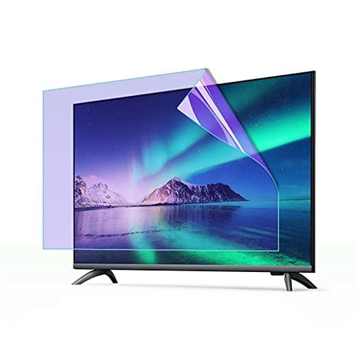 ELISYG Protector de Pantalla de TV 32 Pulgadas Pantalla Curva, Protectora De Pantalla De TV Anti luz Azul Antirreflejos Anti-rasguños para LCD, LED, OLED Y QLED 4K HDTV (Size : 700 * 395mm)