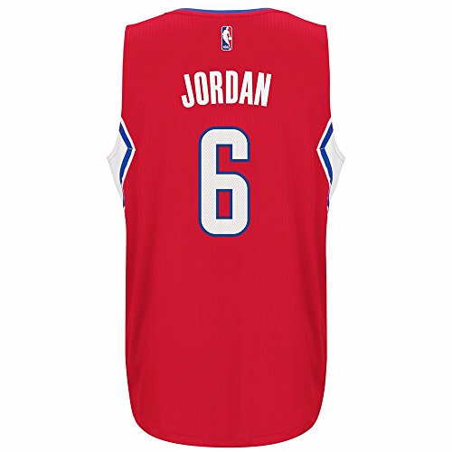 DeAndre Jordan Los Angeles Clippers Adidas Swingman Jersey Red (Large)