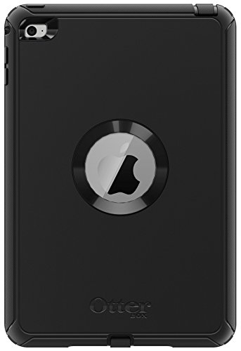 OtterBox 77-52771 Defender Series Polycarbonate/Synthetic Rubber Protective Case for Apple iPad mini 4 - Black