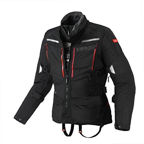 SPIDI Motorradjacke, aus Stoff, für alle Jahreszeiten XL schwarz