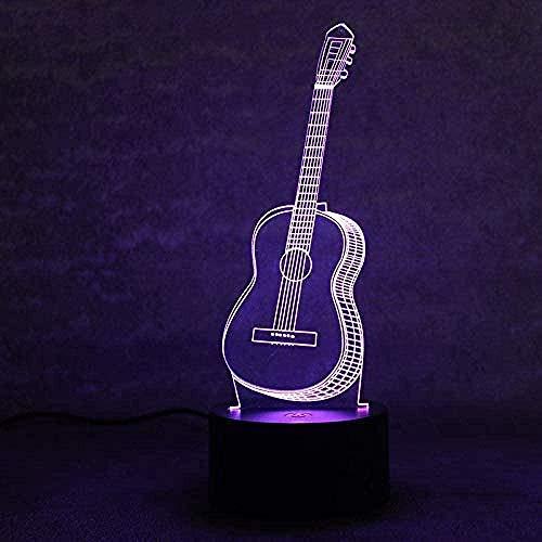 3D Illusion Lamp Led Wave Dance Menschen 3D Licht Bunte Berührung Led Visual Light Geschenk Atmosphäre Tischlampe-K2068_Fernbedienung