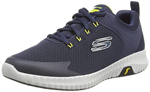 Skechers Elite Flex Prime, Zapatillas para Caminar Hombre, Nvyl, 40 EU