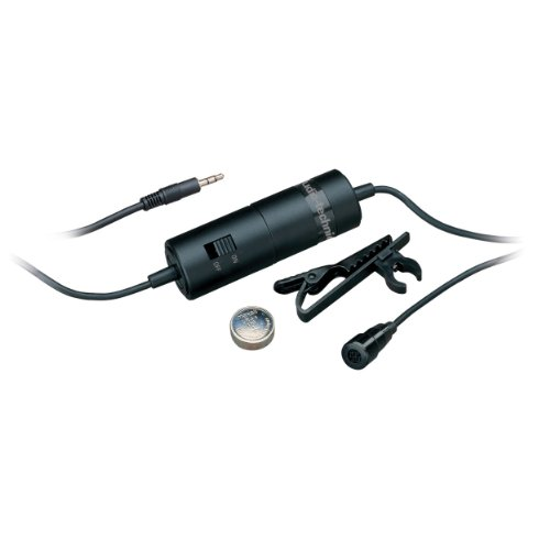 Audio-Technica ATR3350 Omnidirectional Condenser Lavalier Microphone (Discontinued)