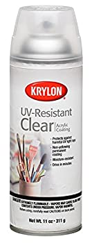 Krylon K01305 Artist and Clear Coating UV-Resistant Clear Gloss 11 Ounce  6 Pack