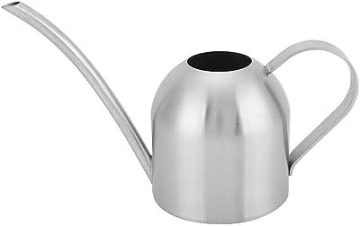 Jeffergarden Stainless Steel Indoor or Outdoor Watering as Garden Plant Flower Long Spout, Watering Pot(1L)