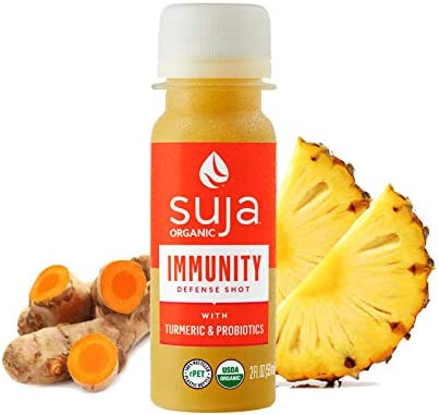 Suja Organic Immunity Defense Shot 30 Pack with Turmeric Ginger and Probiotics Supports Immune product image