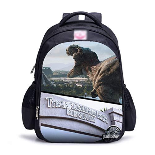 Impresión De Dinosaurios De Gran Capacidad Mochilas Infantiles Escuela Infantil para Niños Y Niñas Mochilas Bolsas Escolares 6-12 Años Moda E-27 * 14 * 35cm