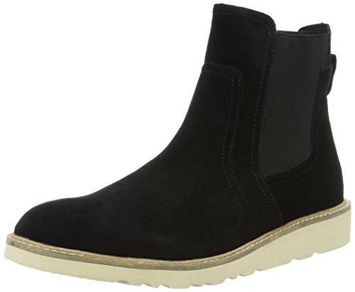 ESPRIT Damen Kajal TG Bootie Chelsea Boots, Schwarz (001 Black), 39 EU