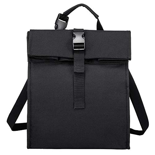 Isolierte Lunchtaschen für Damen/Herren, wiederverwendbare Rolltop Lunchbox Kühltaschen
