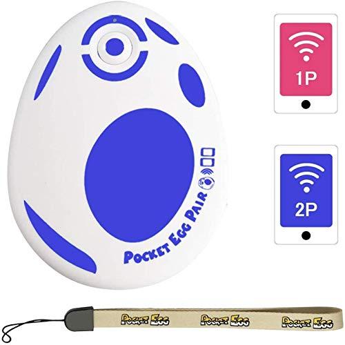 GZW-Shop Pokemon Go Plus 2020 Pocket Egg Pair Auto Cazar Accesorio para 2 Pokemon Go ID Cuenta Auto Captura y Recogida Plus Larga duración en Espera Conexión Bluetooth Estable
