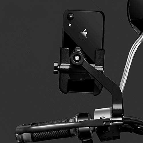 Soporte para Teléfono Soporte para Teléfono De Bicicleta para iPhone Samsung Soporte para Teléfono Móvil para Motocicleta para Xj600 KTM 640 Lc4 Suzuki Negro