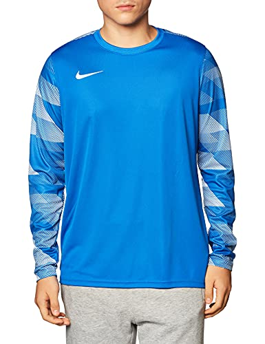 NIKE, Park IV Goalie, Portero Camiseta De Manga Larga, Azul Real/Blanco/Blanco, L, Hombre