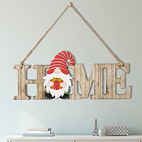 ESHOWEE Weihnachts-Tür-Dekoration 9 * 30 cm,Weihnachtstürdekorationen Weihnachtsverzierungs Anhänger,Weihnachtsdeko Tür Wand Ornament Weihnachtselemente