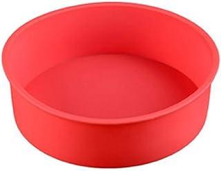 Meifyomng - Molde redondo de silicona para tartas 01