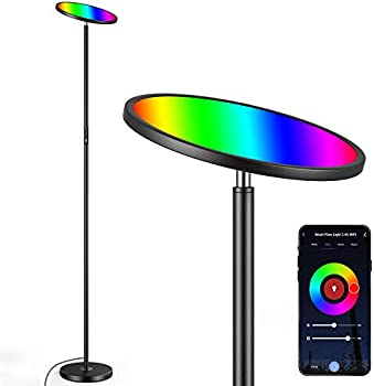 Brightever 25W Dimmable Torchiere Smart Floor Lamp