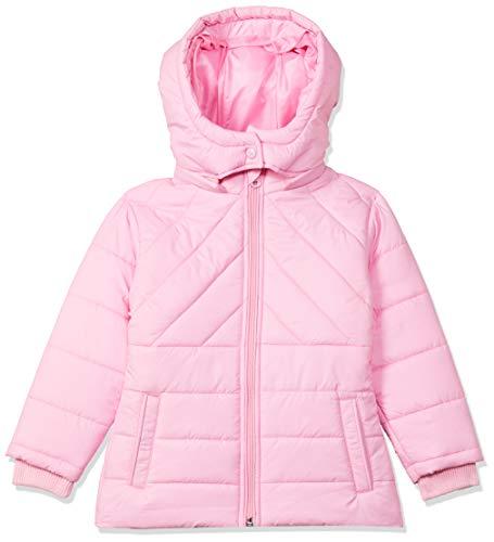 Amazon Brand - Jam & Honey Girl's Regular Jacket (JHAW20GJK009_Lt Pink_3-4 Years)