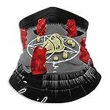 Magic Headbands,Granizo De Azúcar Ocultos Diademas Mágicas, Polainas De Cuello De Novedad para Acampar En Gym Climbing,26x30cm