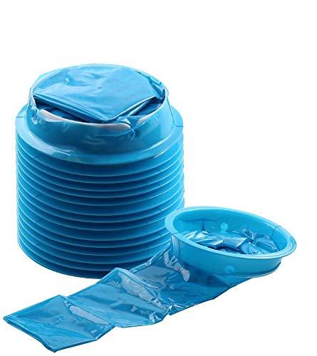 Emesis Bag, YGDZ 15 Pack Vomit Bags Disposable Barf Bags Car Sickness Puke Nausea Bags, 1000ml