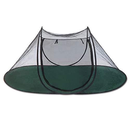 Strong Camel Portable Pet Fun House Cat Dog Playpen Feline Funhouse Outdoor Mesh Tent Foldable Exercise Tent