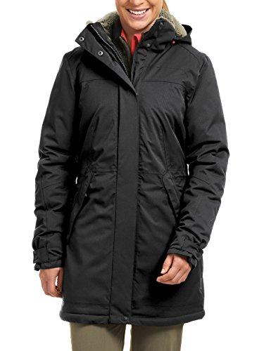 Maier Sports Damen Outdoor Mantel Lisa, Black, 40