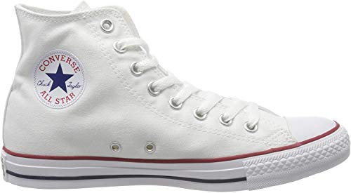 Converse Chuck Taylor All Star Hi Top, Zapatillas Unisex Adulto, Blanco (Optical White), 42 EU