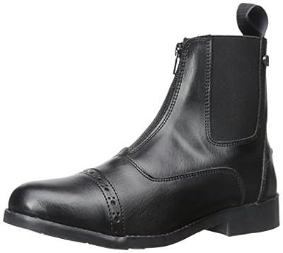 Equistar - Ladies' Zip Paddock Boot (All Weather) 9 Black from EquiStar