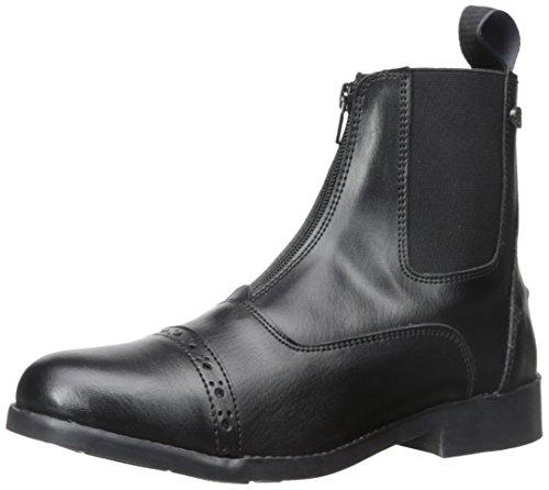 Equistar - Ladies' Zip Paddock Boot (All Weather) (Ladies 8/Black) 8 Black