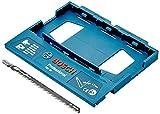 Bosch Professional Stichsäge Zubehör FSN SA (Adapter für geführte Geradschnitte mit Stichsägen auf der Führungsschiene, inkl. 1 x Stichsägeblatt T 344 DP für Holz)
