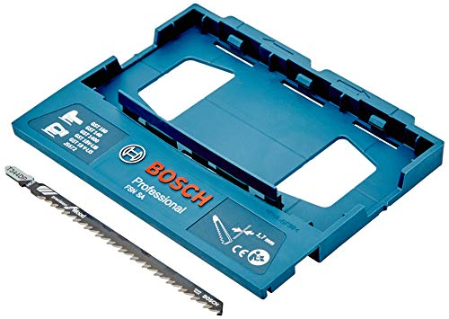 Bosch Professional 1600A001FS FSN SA-Adaptador Sierra De Calar para Carril guía, Azul