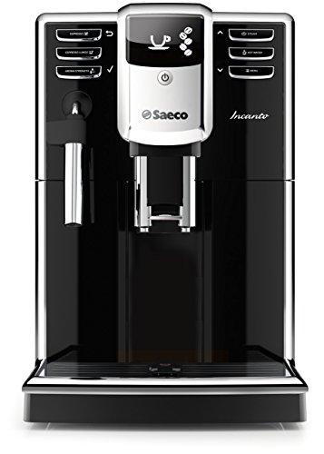 Saeco Incanto Classic Milk Frother Super Automatic Espresso Machine with AquaClean Filter, 1.8 L, Black