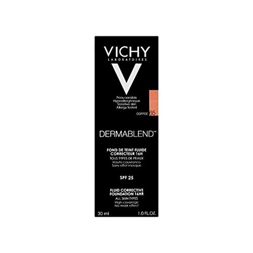 単位インターネット荷物Vichy Dermablend Corrective Fluid Foundation 30ml Coffee 65 - ヴィシー是正流体の基礎30ミリリットルのコーヒー65 [並行輸入品]