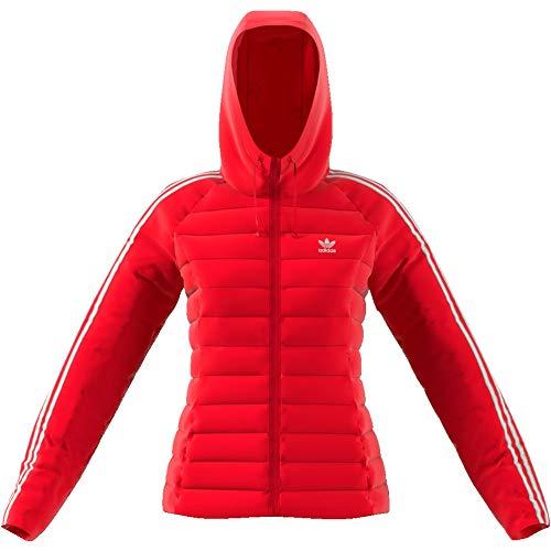 adidas Slim W winterjas scarlet