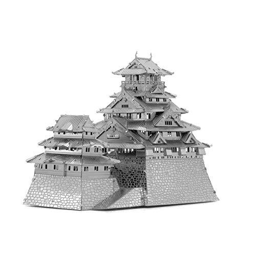 Fascinations El Castillo de Osaka en Japón - 3D Metal Model Kit...
