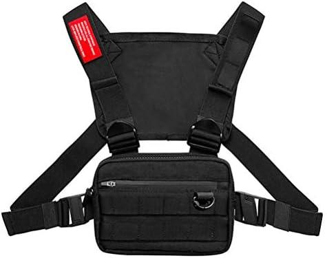 Borstzak Radio Walkie Chest Bag Harness Bag Pack voor Outdoor Sport Jogging Training Fitness