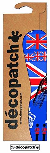 Decopatch papier nr. 530 (blauw London, 395 x 298 mm) 3-pack