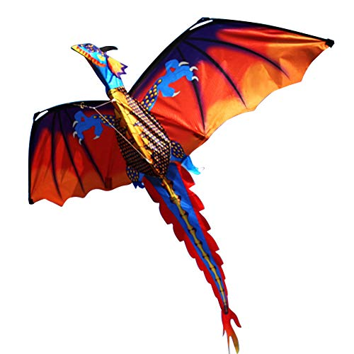 display08 Outdoor-Spiel Bunte 3D Dragon Flying Kite Mit 100m Schwanzlinie Outdoor Sport Kinder Kinderspielzeug Geburtstagsgeschenk
