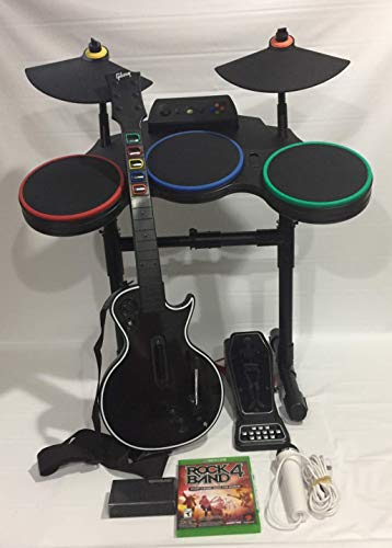 Rock Band 4 PS4 Band-in-a-Box Super Bundle Guitar Hero Drums Upgrade