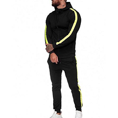 Chándal de los hombres de la compresión del gimnasio del traje de los deportes de la ropa del hombre Correr Jogging deporte entrenamiento traje