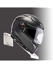 BESTUNT Helmablage helmhouder | voor motorfietsenhouder rek opslag fixatie | berg aan de muur | wit