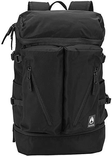 NIXON Scripps Backpack - All Black Nylon